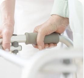 пациент с переломом шейки бедра в пансионате