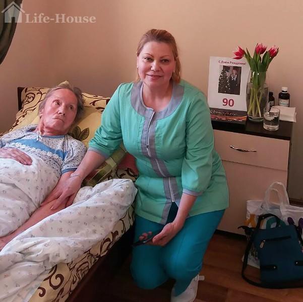 уход за лежачими в панисонате life-house