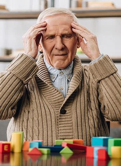 пацієнт з хворобою альцгеймера