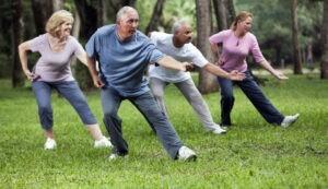 Виды упражнений для пожилых